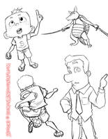 Sketchdumb.My_Cartoon_Style01 by LuizRaffaello