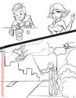 Sketchdumb.My_Cartoon_Style02 by LuizRaffaello