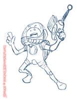 Sketchdumb.My_Cartoon_Style04 by LuizRaffaello