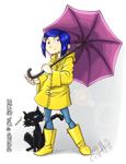 Coraline.Umbrella by LuizRaffaello