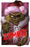 Merry Zombie Christmas by LuizRaffaello