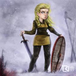 Lagertha - Vikings by LuizRaffaello