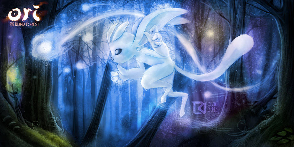 Ori and The Blind Forest by LuizRaffaello