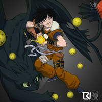 Goku or Hiccup - Mix Project by LuizRaffaello