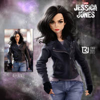 Jessica Jones - Picture Study #5 by LuizRaffaello