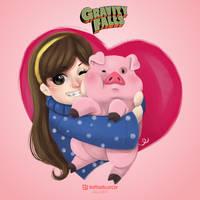 Cute and adorable by LuizRaffaello