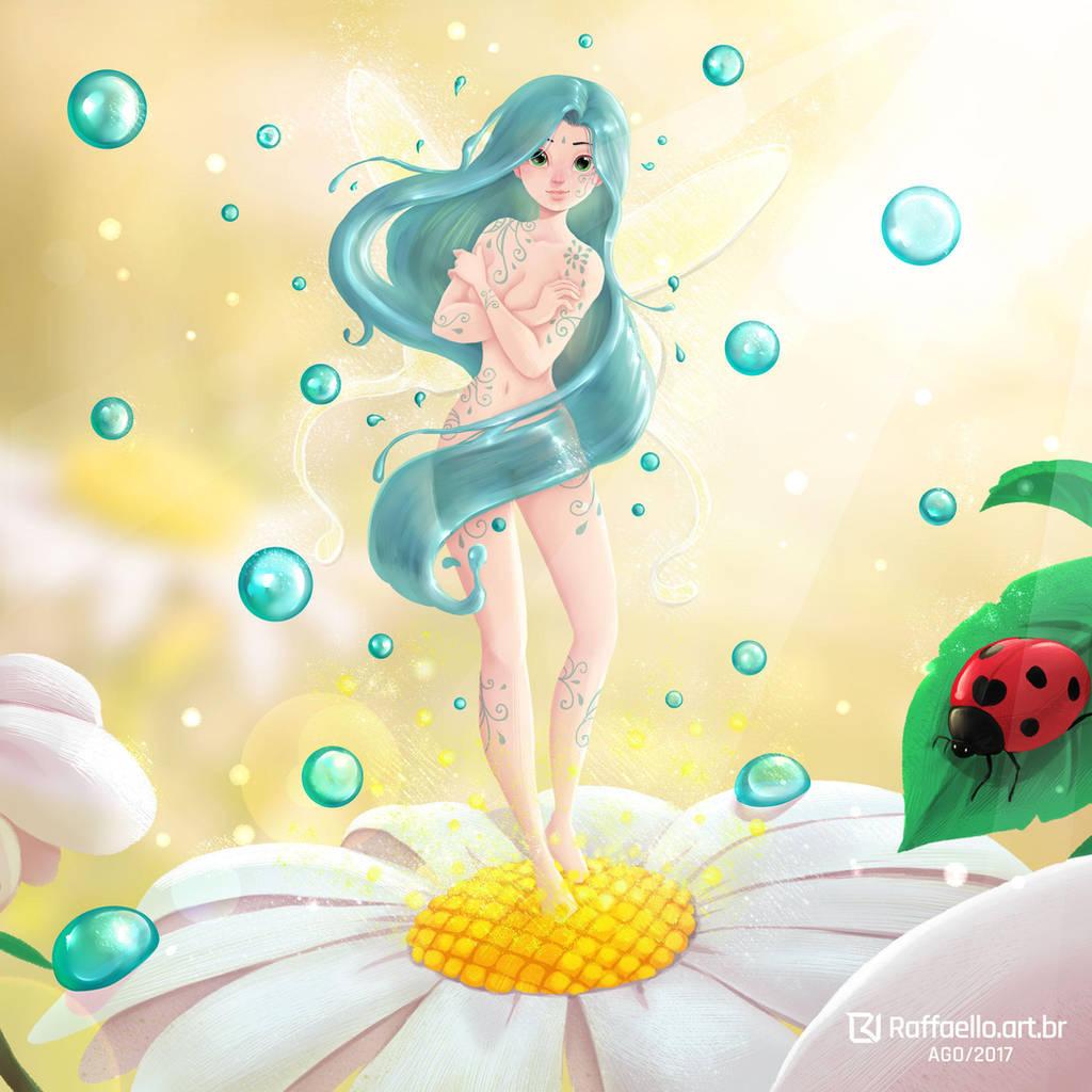 Dew Fairy by LuizRaffaello