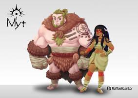 Ni and Khon - Myt - Personal Project by LuizRaffaello