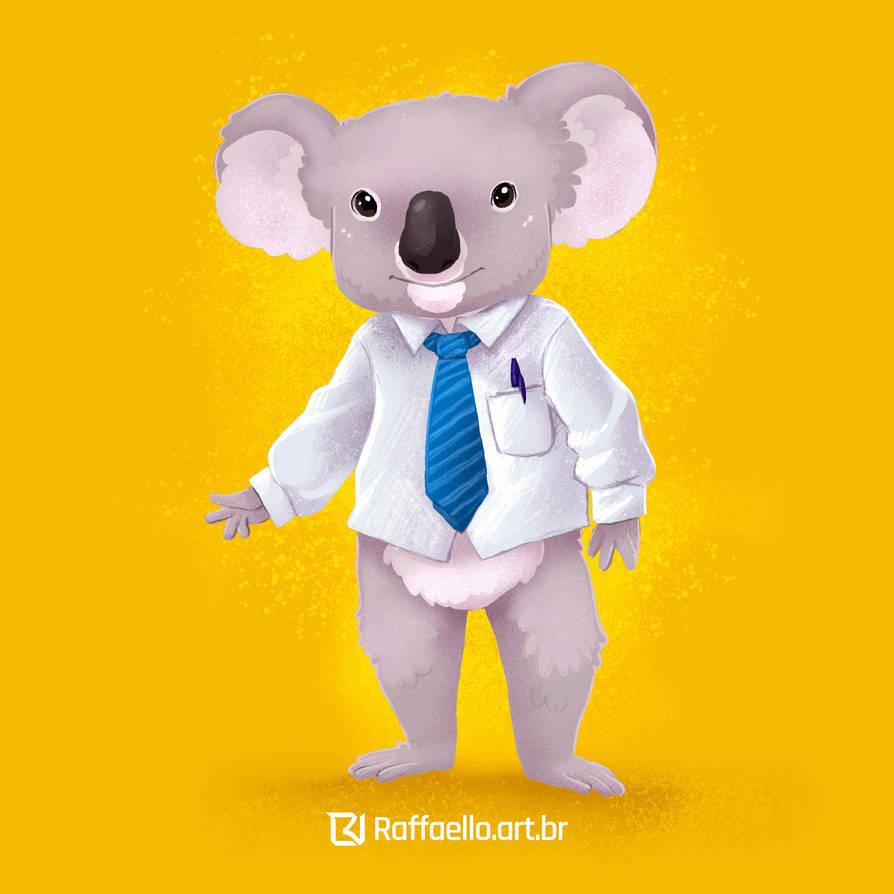 Koala  - worker by LuizRaffaello