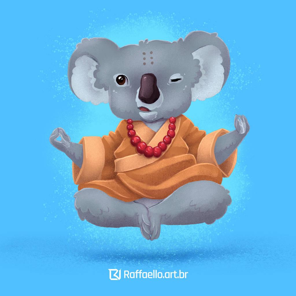Koala  - zen by LuizRaffaello