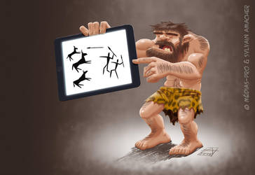 Modern caveman by CaptainSmog