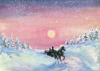 Wintersun by Ephaistien