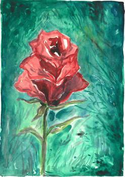 Scarlet Rose by Ephaistien