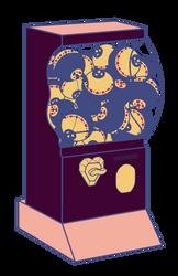 Gacha machine(HOLD) by MMDlover222