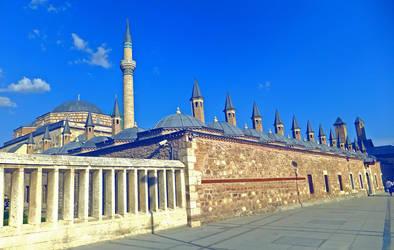Mevlana Celaleddin Rumi Museum by Voodoostar