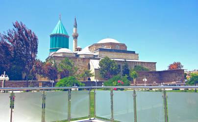 Rumi's Mausoleum by Voodoostar