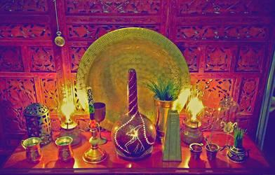 The lamp table by Voodoostar