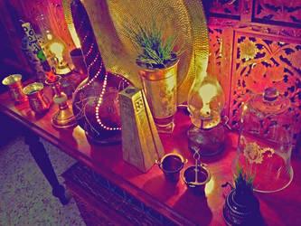 The lamp table 2 by Voodoostar