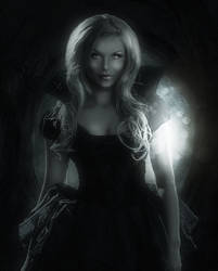 Lady Of The Darkness by MaryCapogna