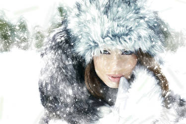 Winter Girl by MaryCapogna
