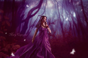 Catching The Magic World Of Fairies by MaryCapogna