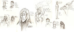 Sketches from Sketchbook by Anomalies13