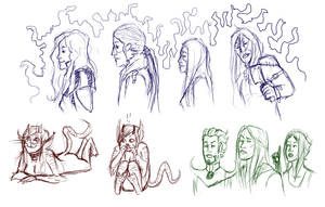 Sketches 9-19-2011 by Anomalies13