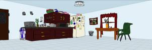 Kitchen Setting by Anomalies13