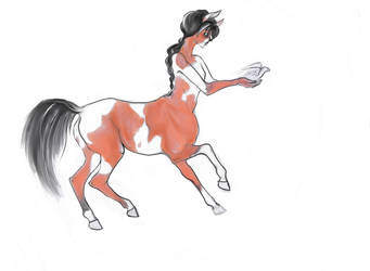 Centaur Leolance preview by nolimetangere94
