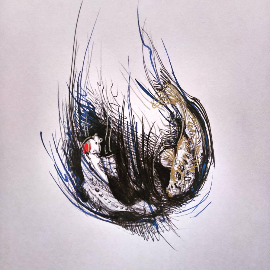 I luv koi fish by nolimetangere94