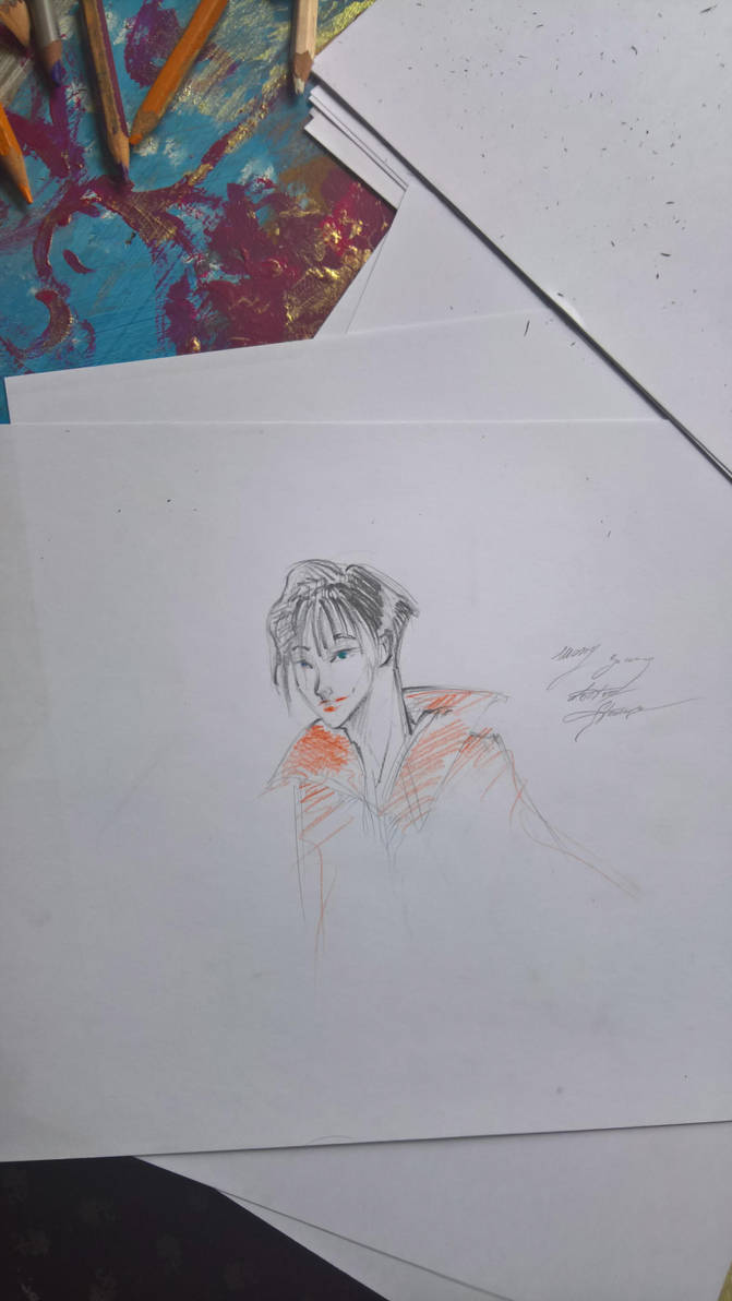 Messy and young Doctor Strange by nolimetangere94