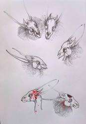 Sketching some anatomy studies by nolimetangere94