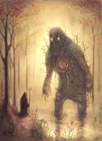 Forest Golem by BenJogan
