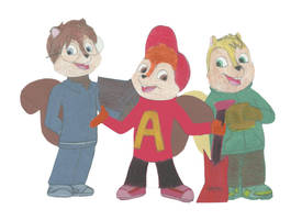 The Chipmunks by Shellquake