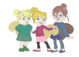 The Chipettes by Shellquake