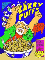 Larry Puffs by thee-bluebeard