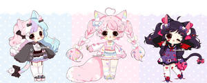 [ CLOSED ] gachapon* adopts [ Thankyou !! ] by Hinausa