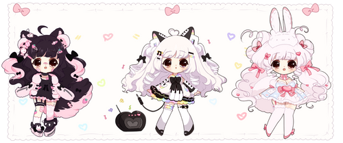 *Ribbons de Auction [ CLOSED ] by Hinausa