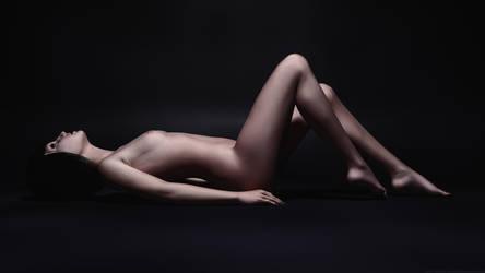Cathy Toshlyra - Full Body Pose Dramatic Color by toshlyrastudios