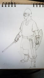 Medieval Achievement Hunters: Jack Sketch by Knight-of-Ashes