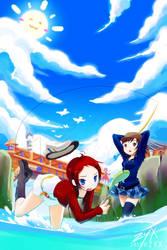 TM: Fishing by zeewai-x