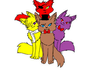 fnaf warrior cats by redfrombloodclan