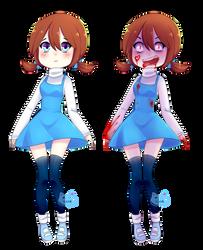 Ika and Rika DBE by IkaNe96
