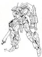 Warhawk: Inks by blackswordsman28