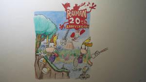 Rayman: 20th Anniversary by Ravingjur1087