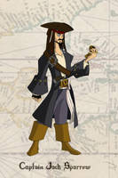 Captain Jack Sparrow by AntVar