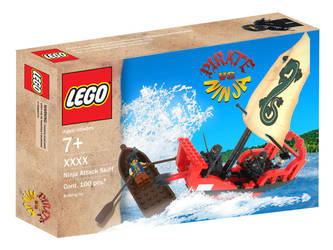 LEGO Pirate VS Ninja II by AntVar