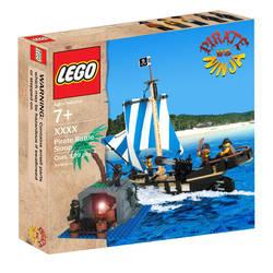 LEGO Pirate VS Ninja III by AntVar
