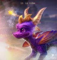[Spyro the dragon] IT IS TIME by Scyrina