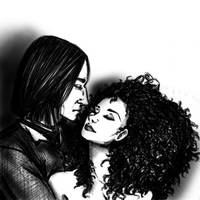 Severus and Hermione by Lady-Faustus